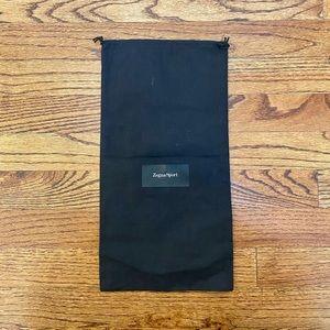Zegna Sport Black Dust Bag